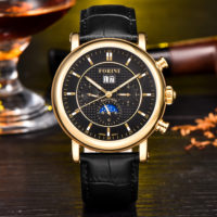 Bradman | Forini Watches | Gold on Black