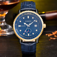 Rousseau | Forini Watches | Gold on Blue
