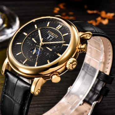 Forini Watches | Bradman | Gold on Black