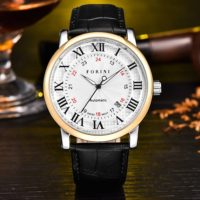 Forini Watches | Bronte | Gold White on Black
