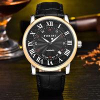 Forini Watches   Bronte   Gold Black on Black