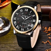 Forini Watches | Bronte | Gold Black on Black
