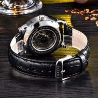 Forini Watches | Bronte | Silver White on black