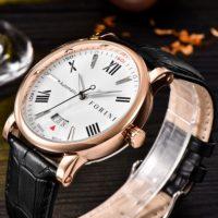 Forini Watches | Keynes | Rose Gold on Black