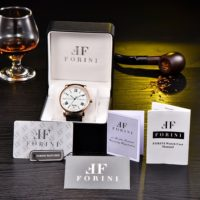 Forini Watches | Keynes | Rose Gold on Black