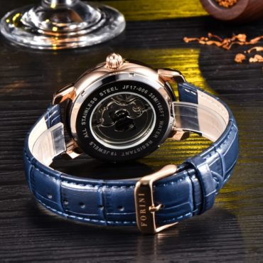 Forini Watches | Ashoka | Rose Gold on Blue
