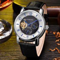 Forini Watches | Ashoka | Silver on Black