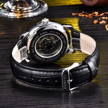 Forini Watches | Ashoka | Silver on Black