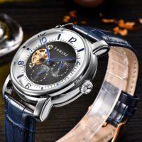 Forini Watches | Ashoka | Silver on Blue