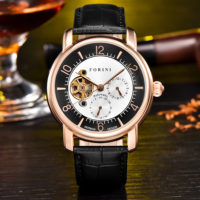 Forini Watches | Ashoka | Rose Gold on Black