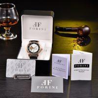Forini Watches | Ashoka | Rose Gold on Black