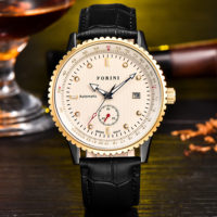 Forini Watches | Rousseau | Gold White on Black