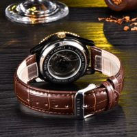 Forini Watches   Rousseau   Gold White on Brown