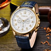 Forini Watches | Krugman | Gold on Blue