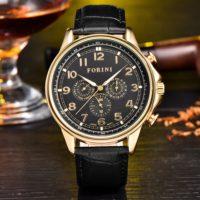 Forini Watches | Krugman | Gold Black on Black