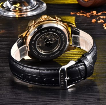 Forini Watches | Krugman | Gold Black on Black