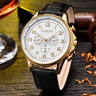 Forini Watches | Krugman | Gold on Black