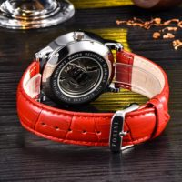 Forini Watches   Bronte   Gold Black on Red