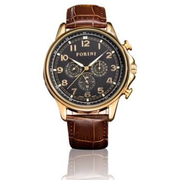 Krugman Gold Black on Brown